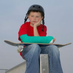 як знати чи в дитини перелом