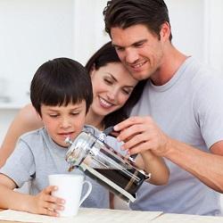 Вплив кави на організм дитини