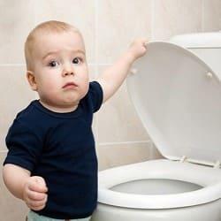 дитина часто ходить в туалет