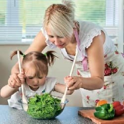 Безпечна поведінка на кухні для дітей і мам